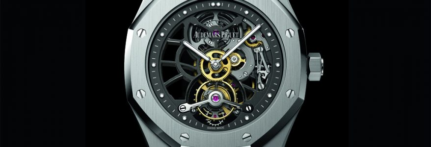 SIHH 2012 – Audemars Piguet Royal Oak Esqueleto Tourbillon 40ª aniversario Replica de India