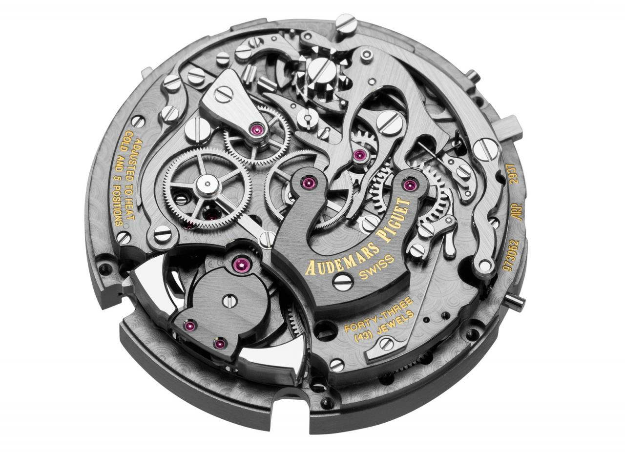 Audemars Piguet Royal Oak Concept Supersonería - calibre 2937 back