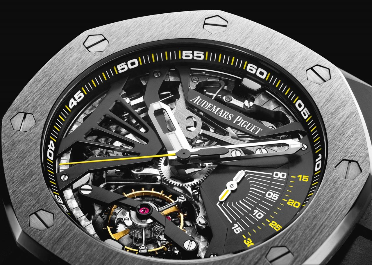 Audemars Piguet Royal Oak Concept Supersonería - dial