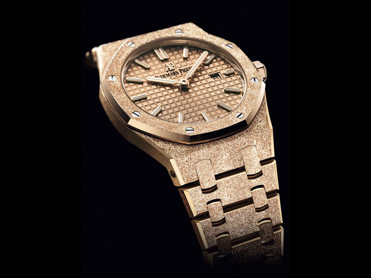 Royal Oak Automatic Frosted Gold RO_67653OR-GG-1263OR-02