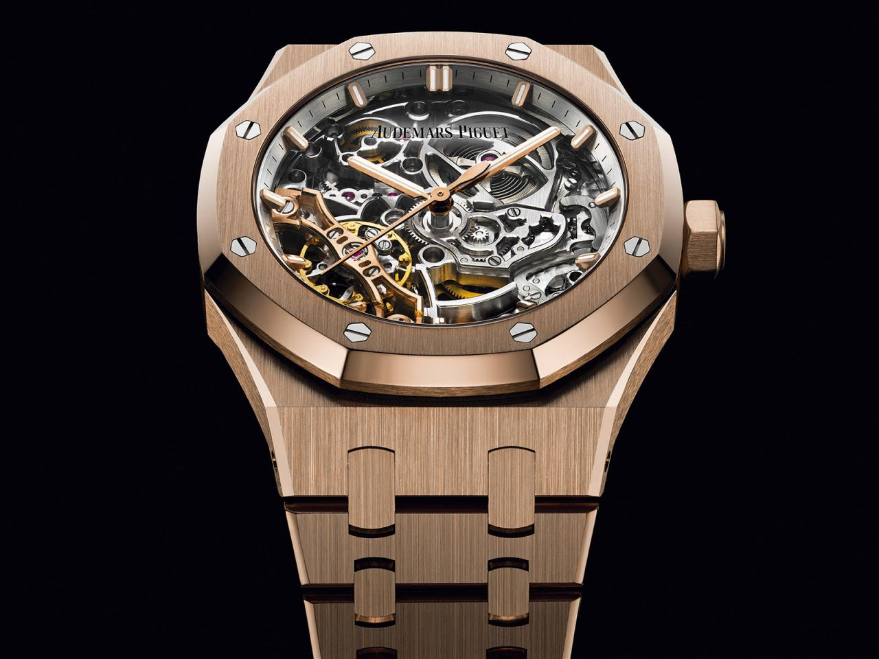 Royal Oak Doble Volante Esqueletizado RO_15467OR-OO-1256OR-01