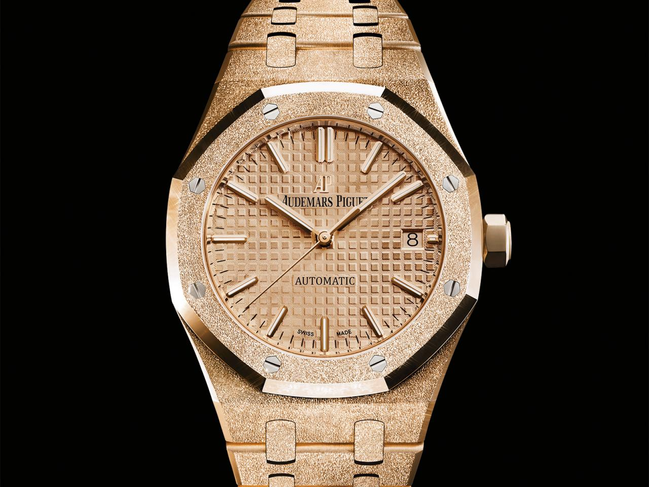Royal Oak Frosted Gold Automatic RO_15454OR-GG-1259OR-03
