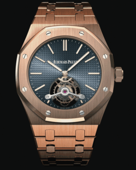Tourbillon Royal Oak Extraplano. Ref. 26510OR.OO.1220OR.01/Calibre: 2924