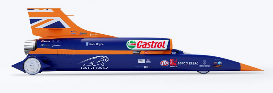 Bloodhound SSC, el supersónico cronometrado por Rolex Onine Shopping Replica Relojes