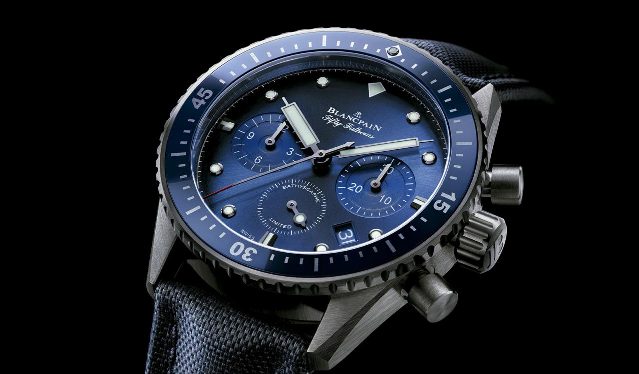 Blancpain Fifty Fathoms Bathyscaphe Ocean Commitment